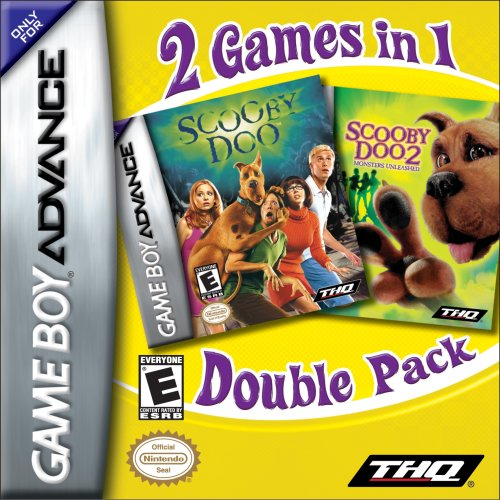 GBA - Scooby Doo: Dual Movie Pack (#) /GBA GAME