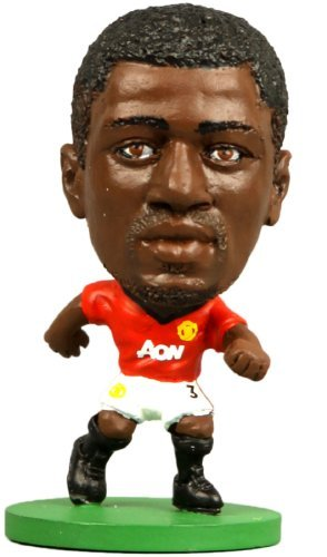 Figures - Soccerstarz - Man Utd Patrice Evra -  Home Kit (2014 version) (legend) /Figures