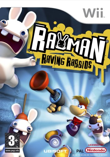 Wii - Rayman Raving Rabbids /Wii GAME