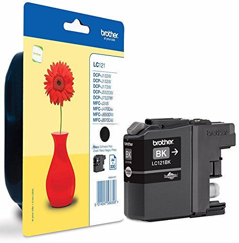 Brother - Brother LC121BK Ink Cartridge Blk