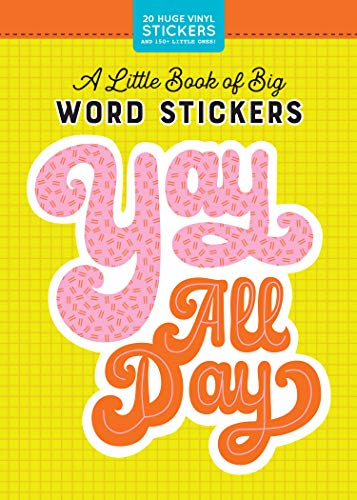 Workman Pub Co (Cor)/ Pipsticks. Inc. (Cor) - A Little Book Of Big Word Stickers BOOK
