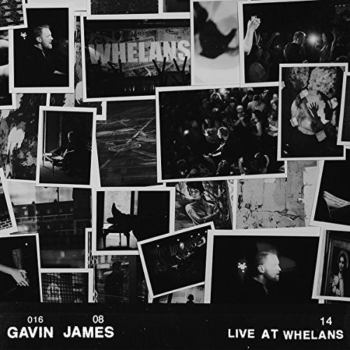 JAMES,GAVIN - LIVE AT WHELANS (CLEAR VINYL) (COLV) (HOL) VINYL