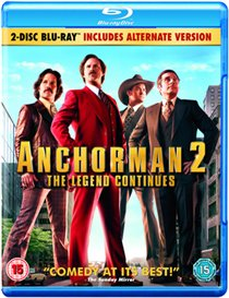 Anchorman 2 - The Legend Continues - David Koechner, Will Ferrell BLU-RAY