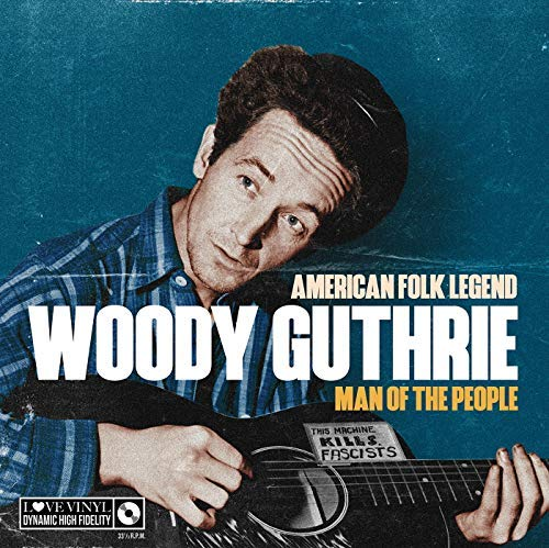 WOODY GUTHRIE - Man Of The People - American Folk Legend VINYL