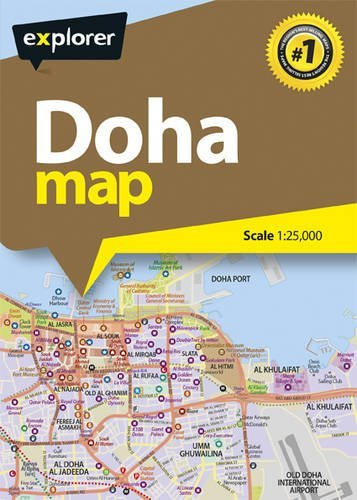 - DOHA CITY MAP BOOK
