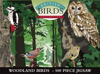 - Battle Of Britain Woodland Birds 500 Piece Jigsaw