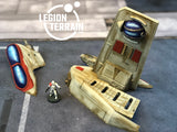 Crashed Republic Gunship A Set - LegionTerrain
