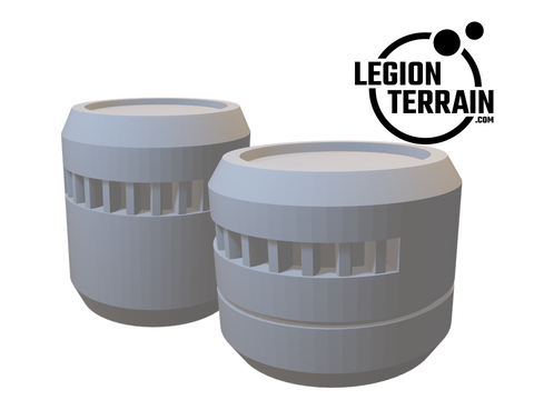 Digital STL File - Barrel Bundle - LegionTerrain