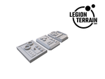 Digital STL File - Door Panel Control Greebles - LegionTerrain