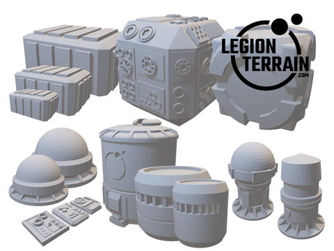 Digital STL File - Scatter Bundle - LegionTerrain