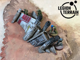 Crashed Rebel Fighter B - LegionTerrain