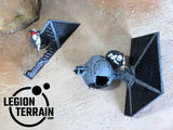 Crashed Imperial Fighter ONE - LegionTerrain