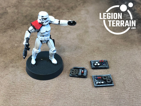 Door Controls - set of 3 - LegionTerrain
