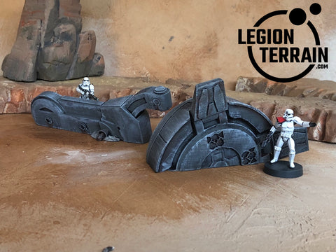 Imperial Walker Leg & Foot - LegionTerrain