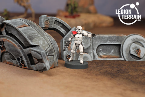 Imperial Walker Leg & Foot ONE - LegionTerrain
