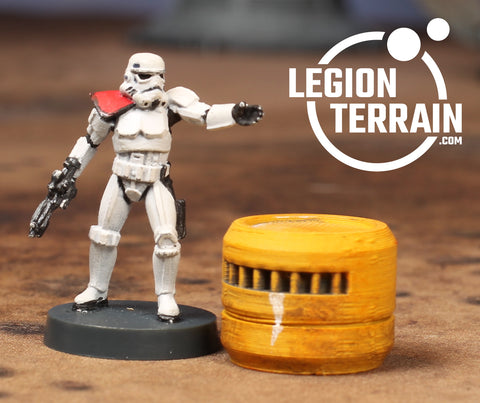 Large Chemical Barrel - LegionTerrain