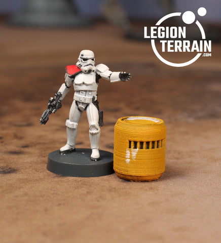 Medium Chemical Barrel - LegionTerrain