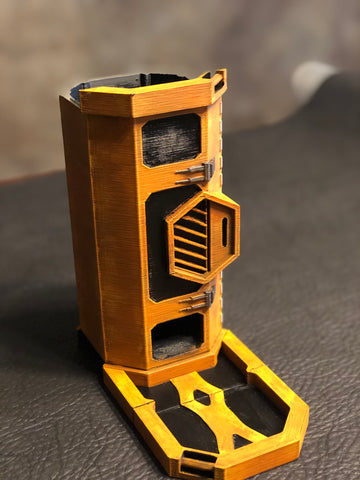 Weapons Container Dice Tower