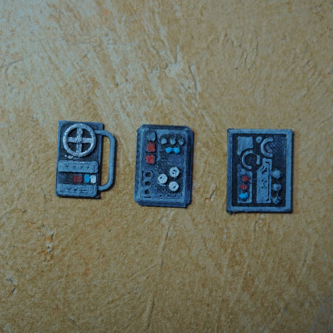 Control Panels - set of 3 - LegionTerrain