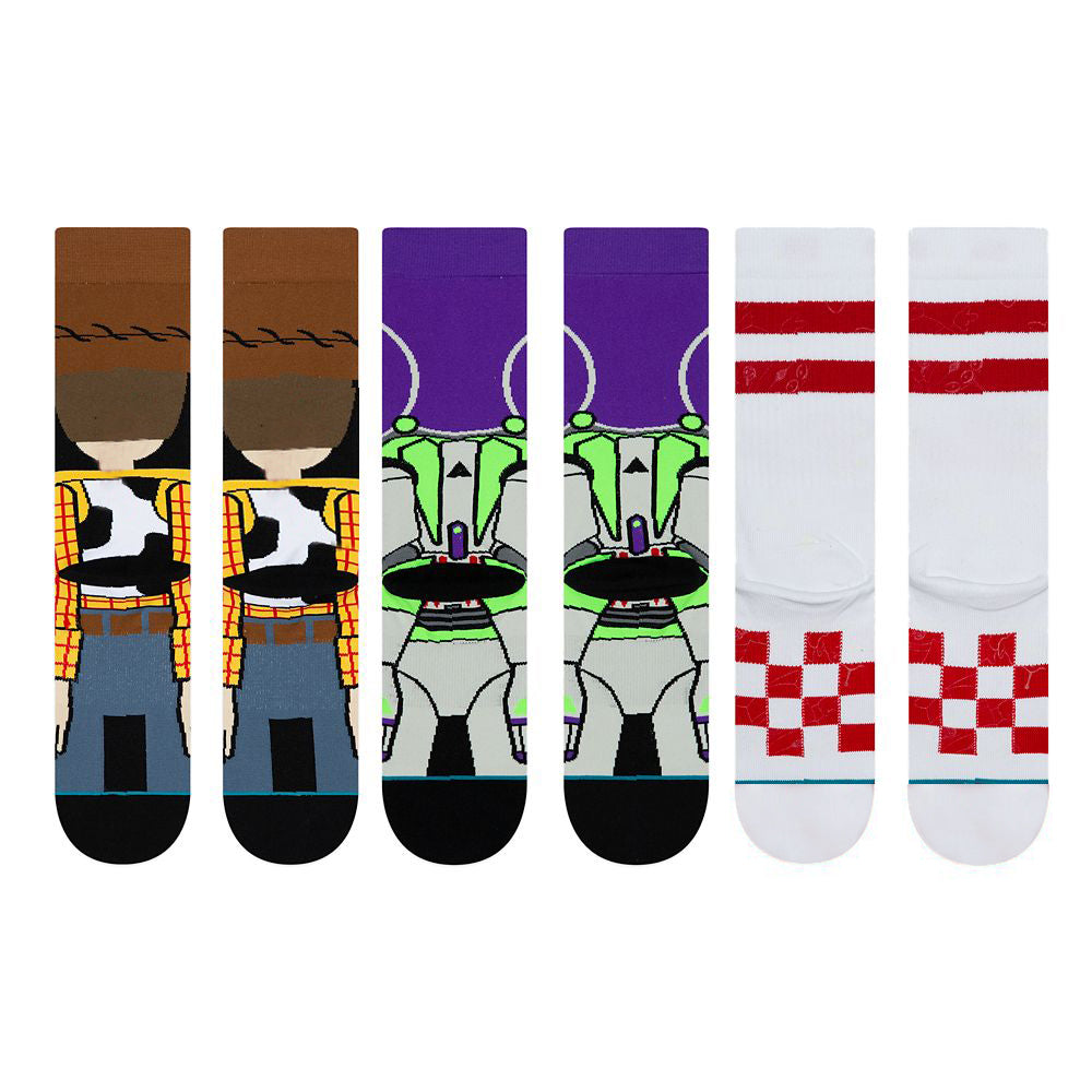 Toy Story Fluorescent Socks(3 Pair&limited big sale for new year)
