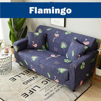 Printed Stretch Elastic Sofa Couch Recliner Chair Cushion Covers