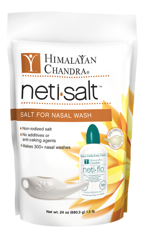 Neti Salt Bag (24oz Refill)
