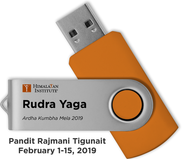 Rudra Yaga at Kumbha Mela 2019: USB Audio