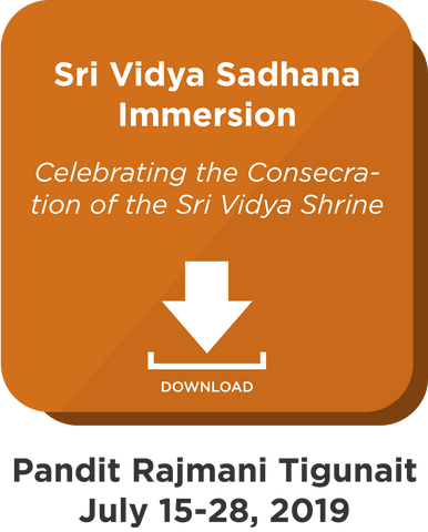 Sri Vidya Sadhana Immersion: Digital Download