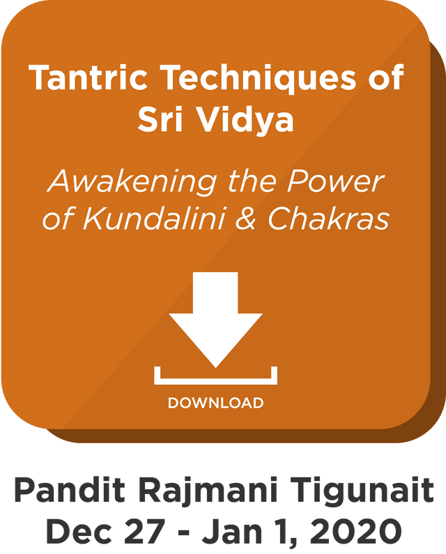 Tantric Techniques of Sri Vidya: Digital Download