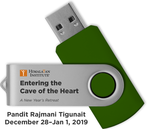 Entering the Cave of the Heart: A New Year's Retreat: USB Audio