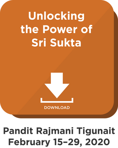 Unlocking the Power of Sri Sukta: Digital Download
