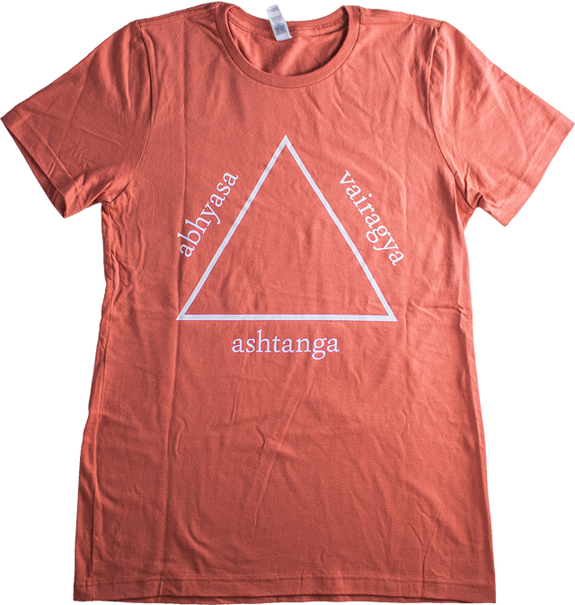 Practice & Non Attachment Tee (Cedar)