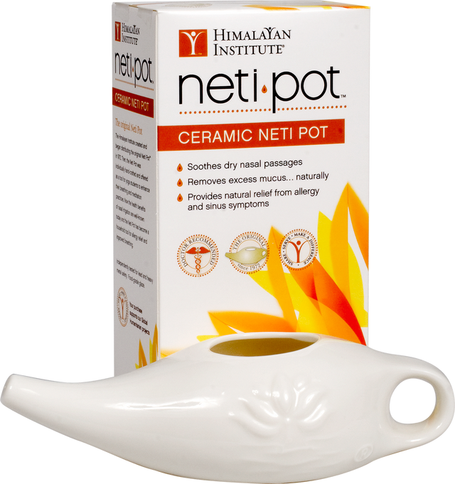 Porcelin Neti Pot