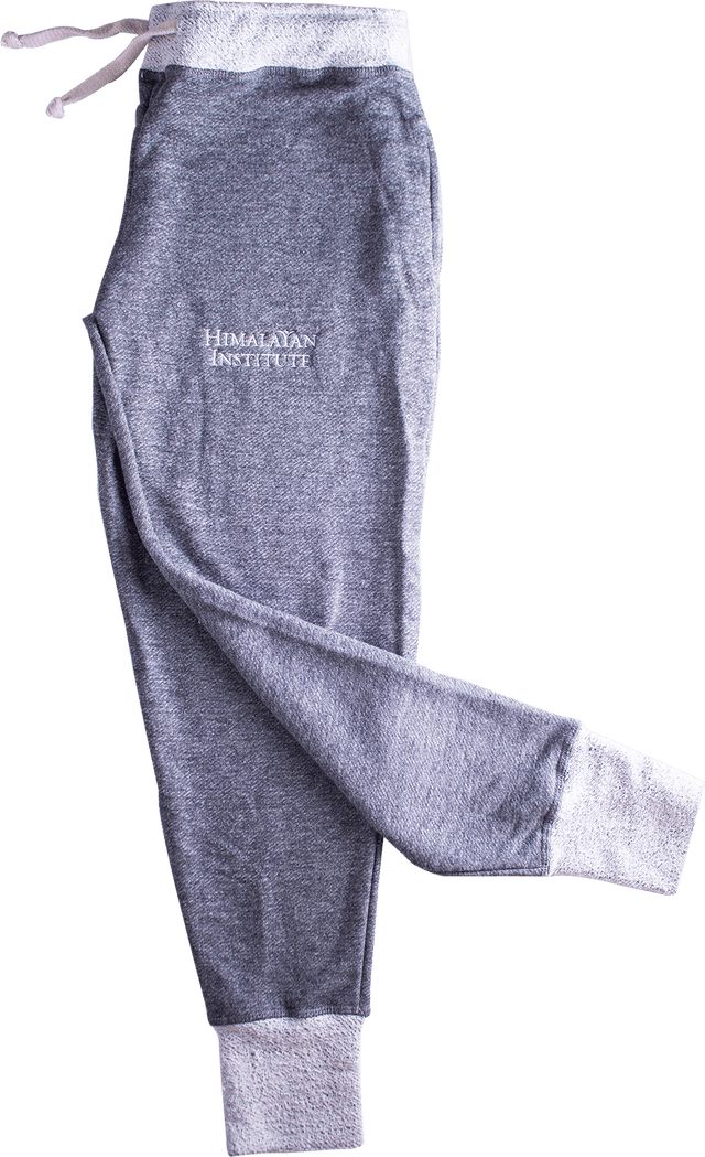 Women's French Terry Joggers Stone Gray