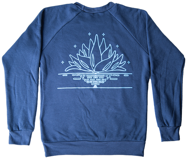 Women's Lotus Sweatshirt