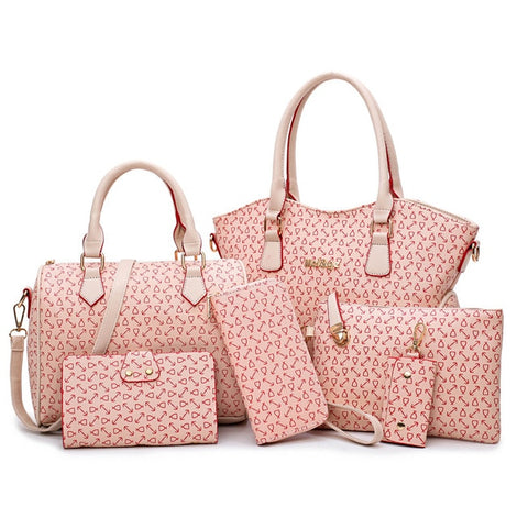 Kit com 6 Bolsas Luxury