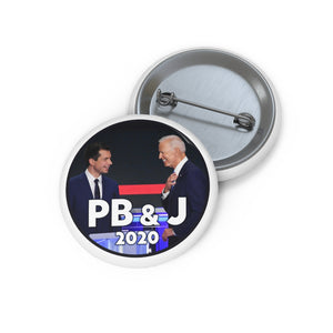 PB&J 2020 Button - Boot Edge Edge Merch