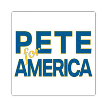 Load image into Gallery viewer, Pete For America Sticker - Boot Edge Edge Merch
