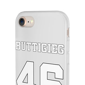 Buttigieg 46 White Logo iPhone Case - Boot Edge Edge Merch