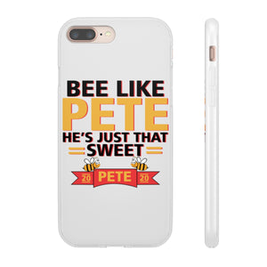Bee Like Pete, He's Just That Sweet. iPhone case - Boot Edge Edge Merch