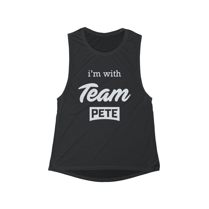 I'm with Team Pete/Rules Of The Road Tank Top - Boot Edge Edge Merch