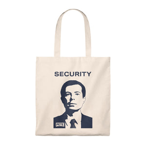 Pete Security Tote Bag - Boot Edge Edge Merch