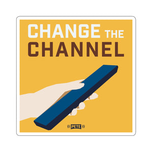 Change The Channel Sticker