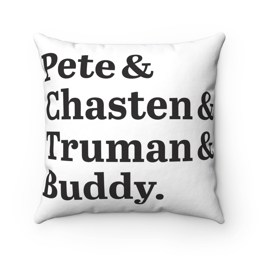 First Family Pillow