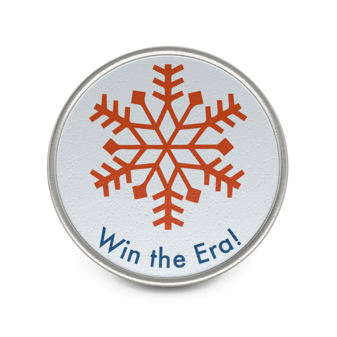 Win The Era Snowflake Pin - Boot Edge Edge Merch