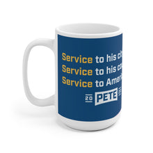 Load image into Gallery viewer, Pete Buttigieg Light Blue Service Mug - Boot Edge Edge Merch