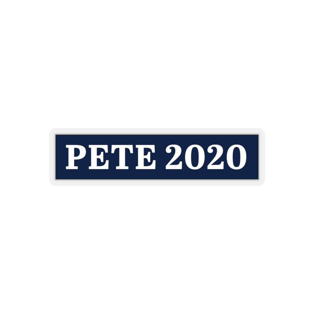 Pete 2020 Bumper Sticker - Boot Edge Edge Merch
