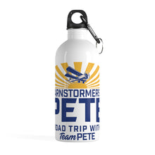 Load image into Gallery viewer, Barnstormers 4 Pete Stainless Steel Water Bottle - Boot Edge Edge Merch