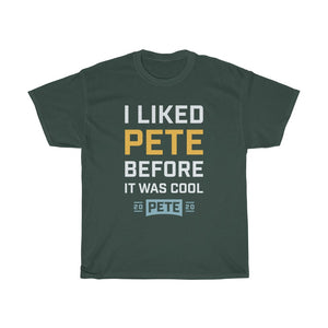 I Liked Pete Before It Was Cool. White Letters - Boot Edge Edge Merch
