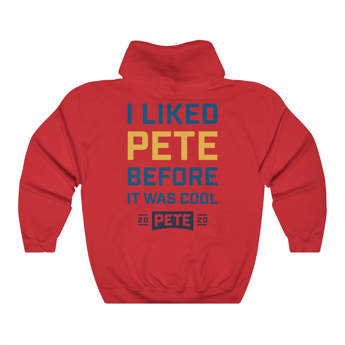 I Liked Pete Before It Was Cool Hoodie - Boot Edge Edge Merch